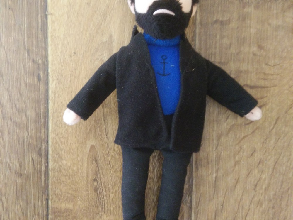 Captain Haddock Doll - Museum of Contemporary Commodities